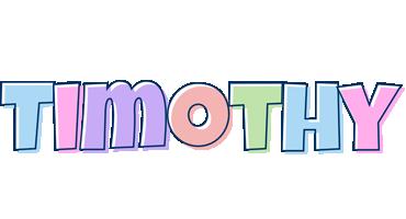 Timothy pastel logo