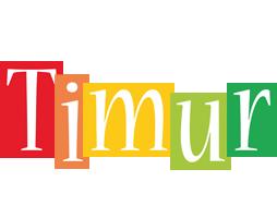 Timur colors logo