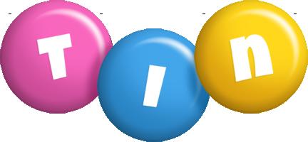 Tin candy logo