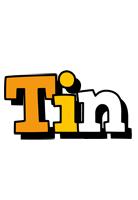 Tin cartoon logo