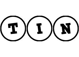 Tin handy logo