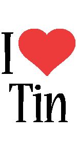 Tin i-love logo