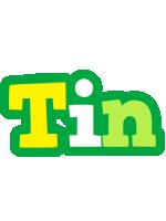 Tin soccer logo