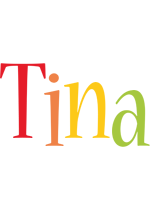 Tina birthday logo