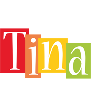 Tina colors logo