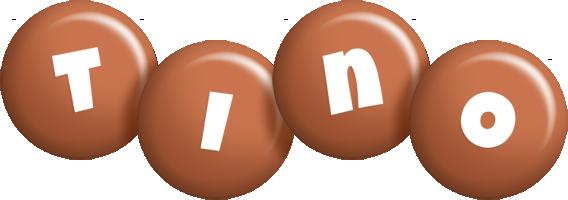 Tino candy-brown logo