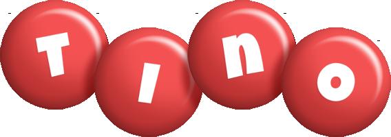Tino candy-red logo
