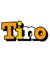 Tino cartoon logo