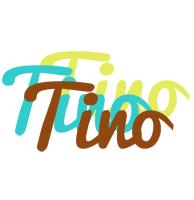 Tino cupcake logo