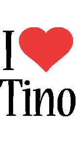 Tino i-love logo