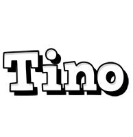 Tino snowing logo