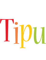 Tipu birthday logo