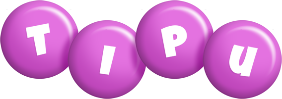 Tipu candy-purple logo