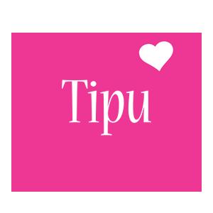 Tipu love-heart logo