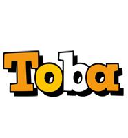 Toba cartoon logo