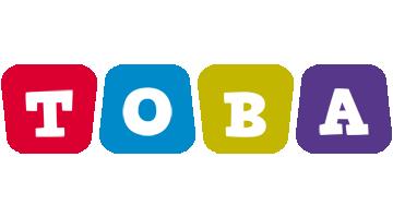 Toba daycare logo