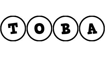 Toba handy logo