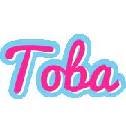 Toba popstar logo