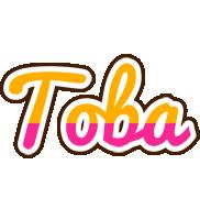 Toba smoothie logo