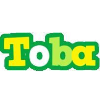 Toba soccer logo