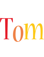 Tom birthday logo