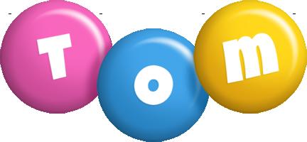 Tom candy logo