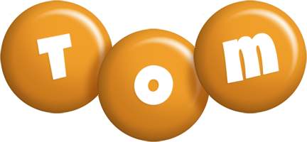 Tom candy-orange logo