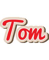 Tom chocolate logo