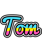 Tom circus logo
