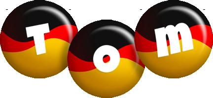 Tom german logo