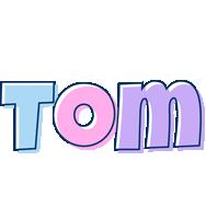 Tom pastel logo
