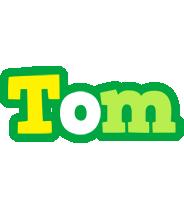 Tom soccer logo