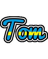 Tom sweden logo