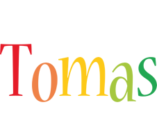 Tomas birthday logo