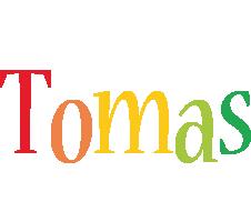 Tomas birthday logo