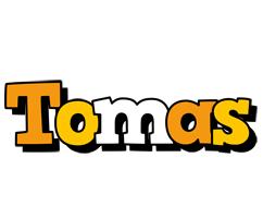 Tomas cartoon logo