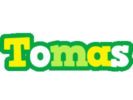 Tomas soccer logo