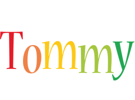Tommy birthday logo