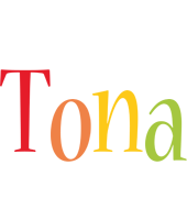 Tona birthday logo