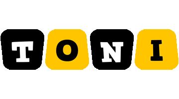 Toni boots logo