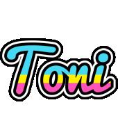 Toni circus logo
