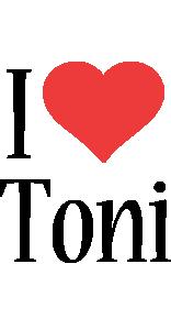 Toni i-love logo
