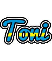 Toni sweden logo