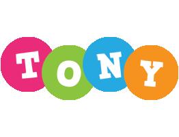 Tony friends logo