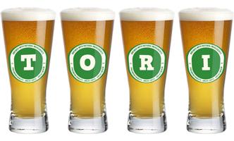 Tori lager logo