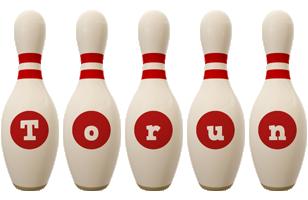 Torun bowling-pin logo