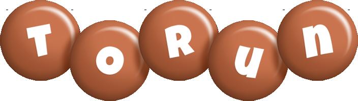 Torun candy-brown logo