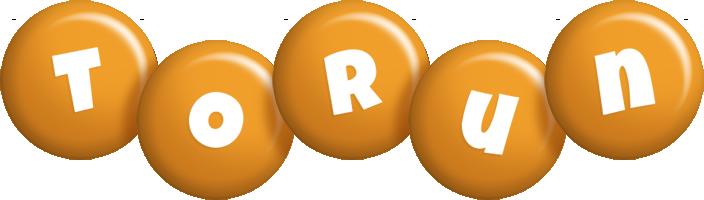 Torun candy-orange logo