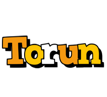 Torun cartoon logo