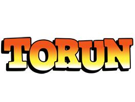 Torun sunset logo